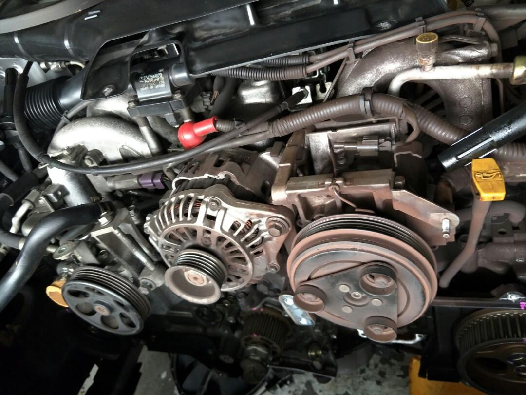 Subaru Impreza GD5 : Full set Timing Belt replacement, Car