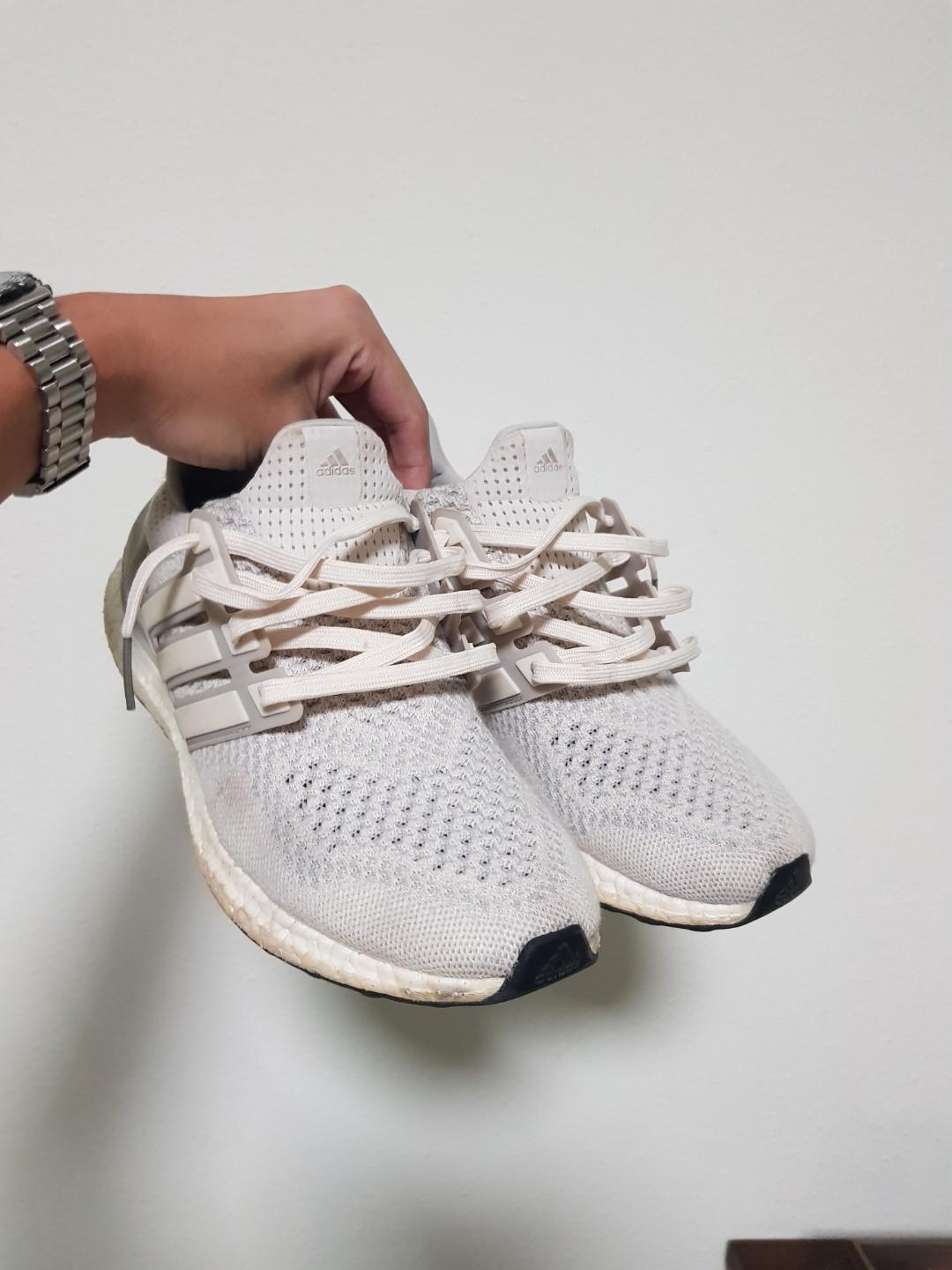 low priced 2c991 5b55e Ultra Boost 1.0 Cream/Chalk/Tan, Men's Fashion, Footwear ...