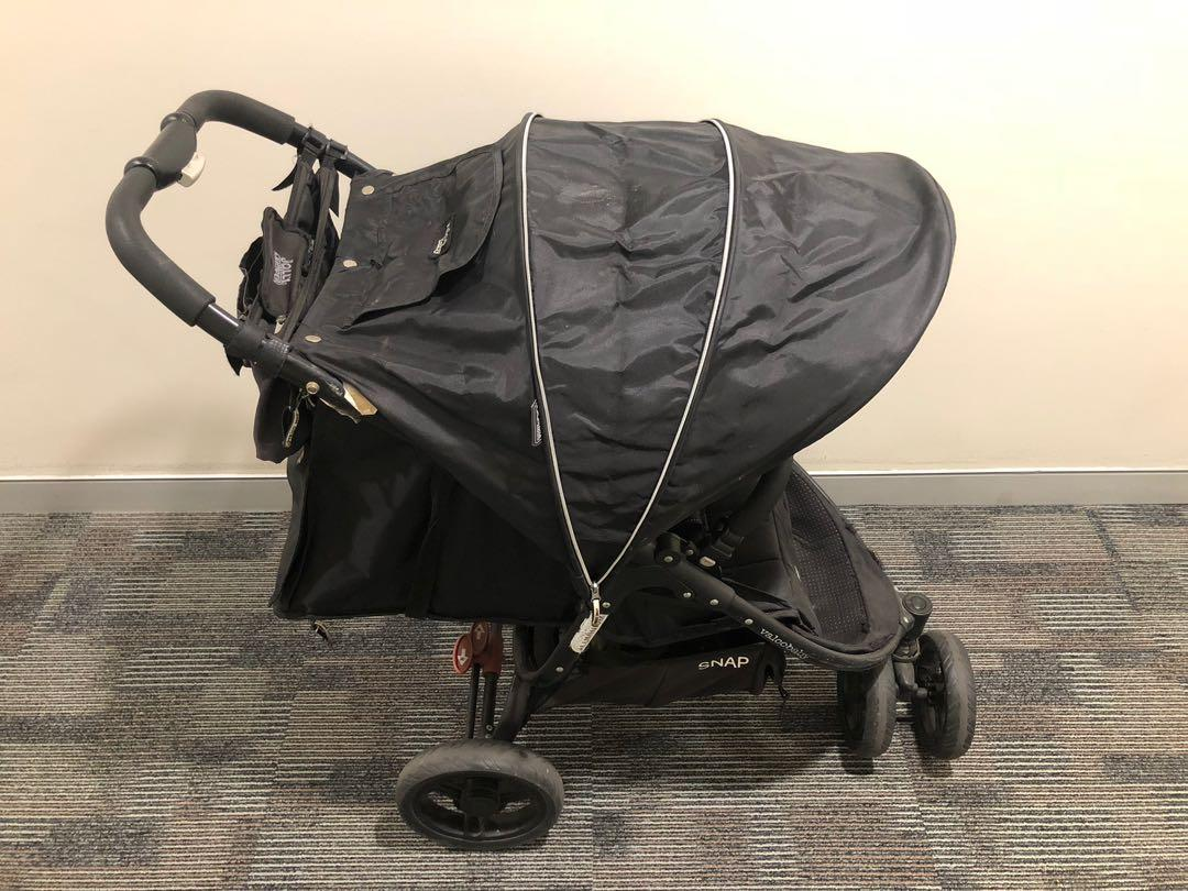 Valco Baby Snap 3 Stroller - Black Beauty