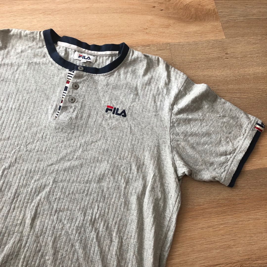 96a169bf226f Vintage Fila Polo / Tshirt Size Large, Men's Fashion, Clothes, Tops ...