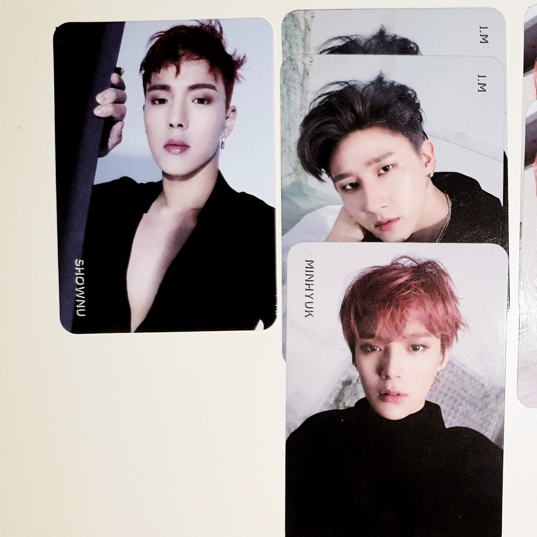 WTT MONSTA X ARE YOU THERE INDIVIDUAL PCS