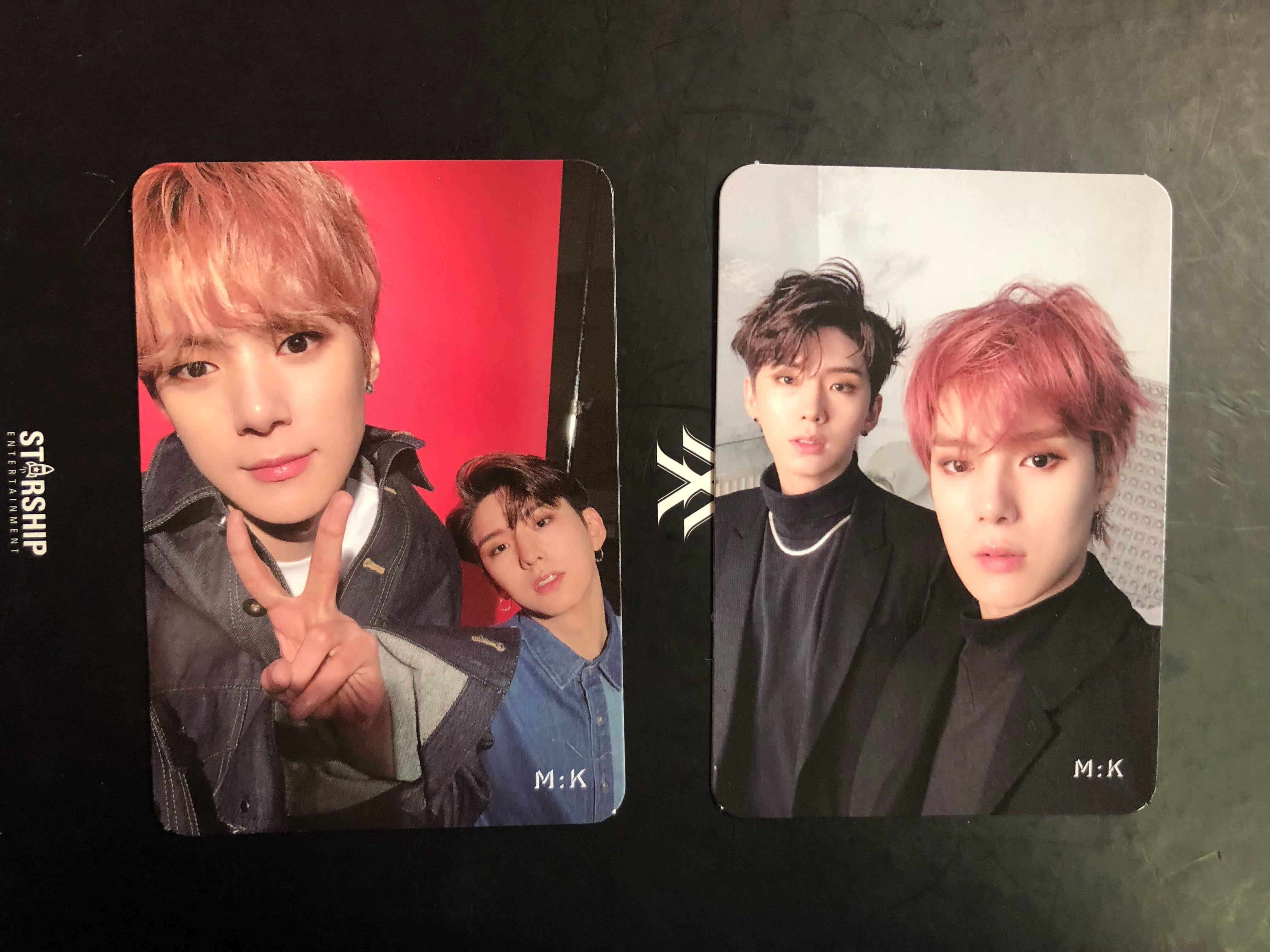 WTT] MONSTA X TAKE 1 ARE YOU THERE? ALBUM UNIT PHOTOCARD