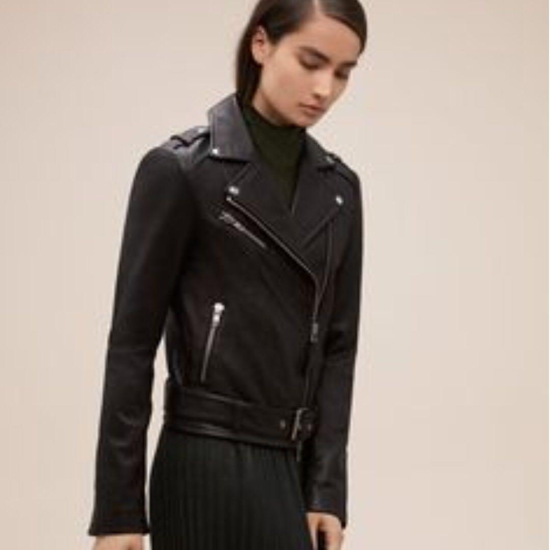XXS Smooth leather Aritzia Mackage Rumer Jacket