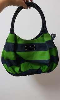 Authentic Kate Spade Green/Blue Karen Bag