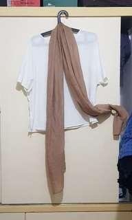 Nude Brown Shawl