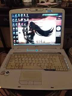 Acer aspire 5920 working condition as is