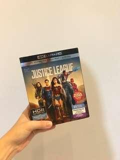 Superheros 4K ultra hd movie disc