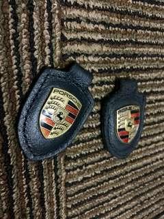 Porsche genuine keyring