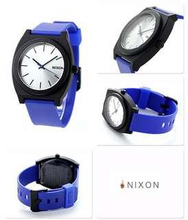 Nixon Time Teller P Blue Black Watch