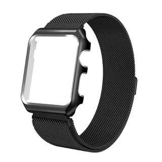 Apple Watch 38mm Milanese Loop with Case Black