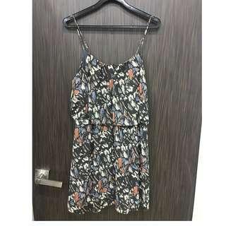 Printed ruffle dress Size S