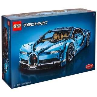 Leeogel Lego 42083 Technic Bugatti Chiron - New In Sealed Box