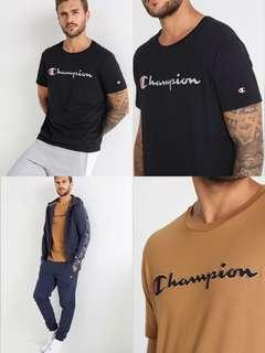 🆕 champion embroidery tee