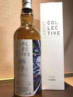 LMDW Artist Collective Ledaig 7yo whisky Case strength 蘇格蘭威士忌