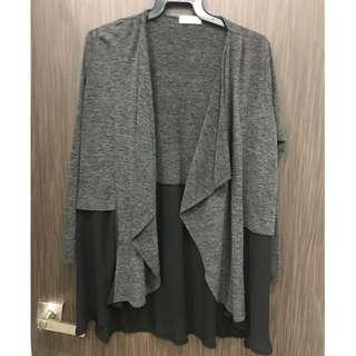 Assymmetrical jacket