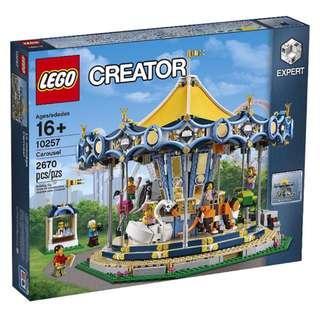 Leeogel Lego 10257 Creator Carousel - New In Sealed Box