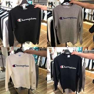 🆕 champion embroidery long sleeves
