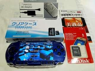 Blue psp fat 8gb v6.60 Downloadable