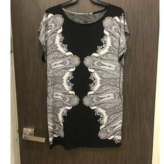Printed dress Size S