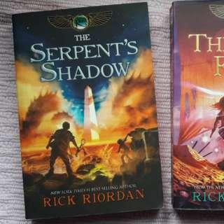Kane Chronicles Book 3 - Serpent's Shadow