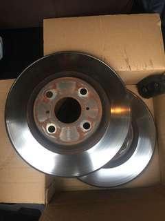 Disc Toyota Vios NCP150 to letgo