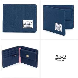 [Instocks!] Herschel Bi-Fold Roy Coin Wallet (Navy Blue)