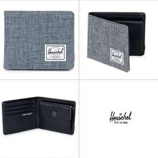 [Instocks!] Herschel Bi-Fold Hank Coin Wallet (Charcoal Grey)