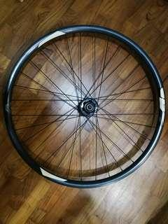 Giant SXC-2 27.5 650b bicycle FRONT AND BACK wheel WHEELSET MODIFIED FOR 11S ROAD CASSETTE Gravel Disc MTB