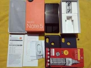 Xiaomi Redmi Note 5 4/64 Mulus Fulset TAM