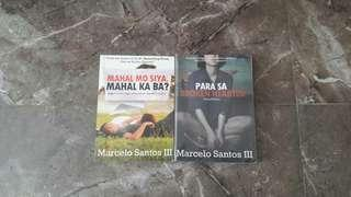 My Prince (with Aly Loony's autograph) and Marcelo Books