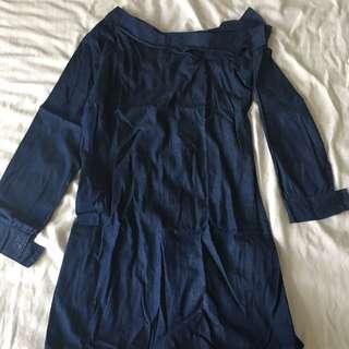 ✨ SM Woman Denim Dress