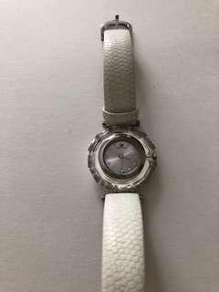 Authentic Swarovski faceted crystal bezel watch Swiss made