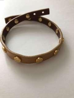 Authentic Tory Burch wrap bracelet/ choker