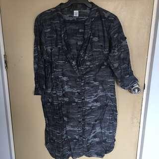 REPRICED Camo Dress