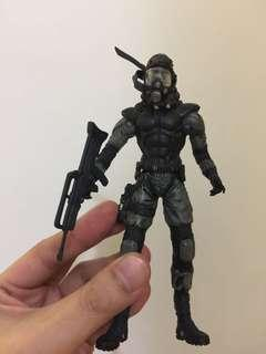Metal Gear Solid 絕版 公仔 Solid Snake figure 日版