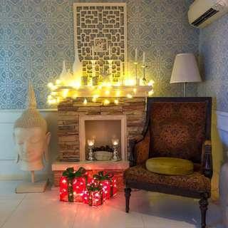 Christmas Decor (3 lighted present box)