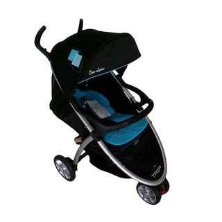 Cocolatte CL 904 Trip Baby Stroller Kereta Dorong - Blue