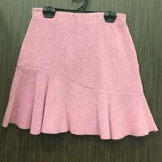 Purple Assymetrical Skirt Size S