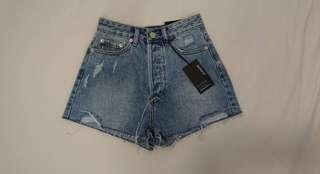 Malibu Blue Wash Denim Short