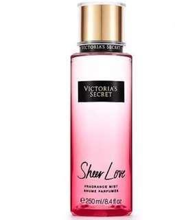 Sheer Love Fragrance Mist
