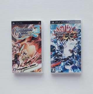 PSP Sega Phantasy Star Portable 1 2