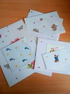 More homemade cards.