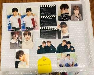 (CLEARANCE)SEVENTEEN OFFICIAL PHOTOCARDS