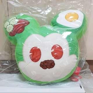 "Brand New 13"" Disney Mickey Mouse Go Local Di Sini Nasi Lemak Character Super Soft Plush Cushion Pillow Stuffed Soft Toy"