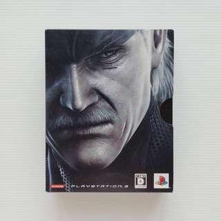 PlayStation PS3 Metal Gear Solid 4 : Guns of the Patriots special edition