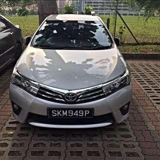 Toyota altis 2016 no dep for grab