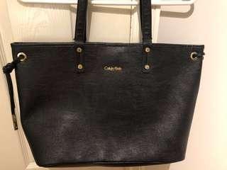 Calvin Klein large tote purse