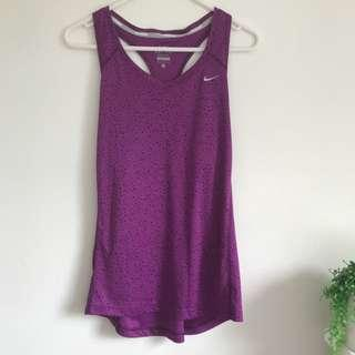 Nike Purple Tanks Size M