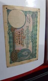 Old twenty_five cent note