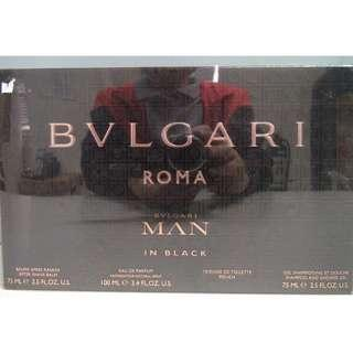 BVLGARI Roma Man in Black Gift Set